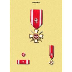 Set completo MM Militare Ufficiale