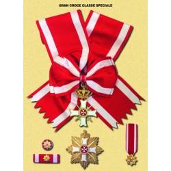 Set completo  Gran Croce Classe Specciale MM Militare