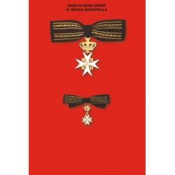 Set completo Gran Croce  Dama Grazia Magistrale