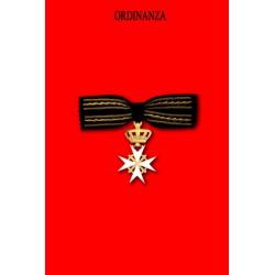 Ordinanza Dama di Gran Croce di Grazia Magistrale