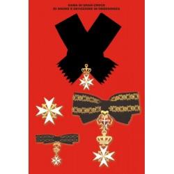Set completo Dama di Gran Croce di Obbedienza
