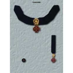 Set completo S. Sepolcro Cavaliere